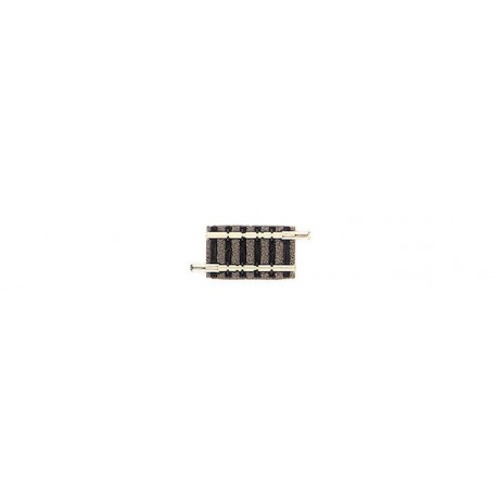 FLEISCHMANN 9104. N Tramo recto vía Piccolo de 27,75 mm