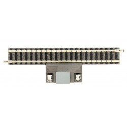 FLEISCHMANN 9108. Tramo recto vía Profi de 111 mm con toma de corriente (no válido para sistemas digitales)