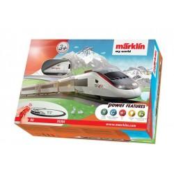 MARKLIN 29304. H0 Caja Iniciación TGV Lyria My World , luz y sonido