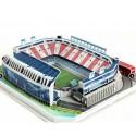 Puzzle 3D Estadio Vicente Calderon, Atlético de Madrid. 158 pcs