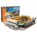 Puzzle 3D Estadio de Mestalla. 120 pcs