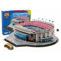 Puzzle 3D Estadio Camp Nou. F.C. Barcelona.