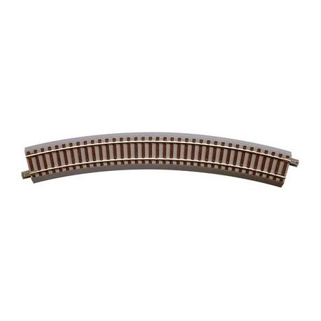 ROCO 61124. Vía curva radio 4 (511,1 mm), 30º