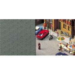BUSCH 6031. Adoquinado para calles y plazas H0