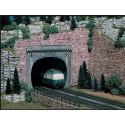 VOLLMER 42502. H0 Portal Túnel doble vía. 2 uds
