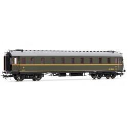 ELECTROTREN 15016. H0 Coche Verderón RENFE 3ª clase, con luz interior.