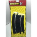 SCALEXTRIC 8403. Curva Super Exterior. 2 unidades