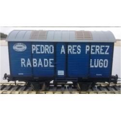 Ktrain NT01-A. Vagón Fudre PEDRO ARES