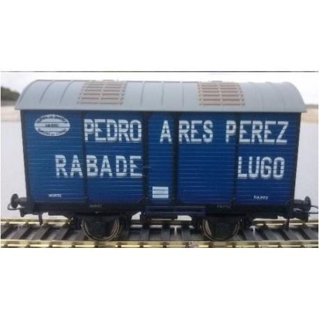 Ktrain NT01-A. H0 Vagón Fudre PEDRO ARES