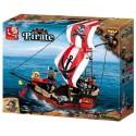 SLUBAN 280127. Barco Pirata. 379 pcs