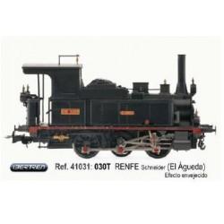 IBERTREN 41031. Locomotora Vapor 030T RENFE Schneider 030-0203 EL AGUEDA