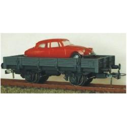 Ktrain 0709-G. Vgón. Unificado borde bajo . Carga vehículo Citroen DS