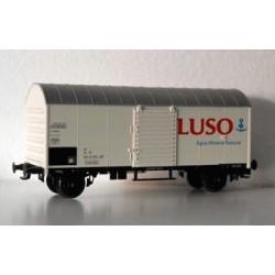 "LILIPUT 222701. Vagón frigorífico 2 ejes ""Agua Mineral Luso"""