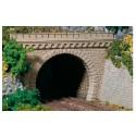 AUHAGEN 11343. H0 Portal túnel 2 vías.