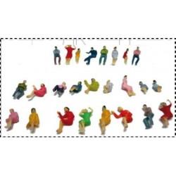 MABAR 60120-HO. Figuras sentadas, 25 unidades