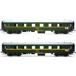 MABAR 81620. Set de dos coches ambulancia HH5-HH6