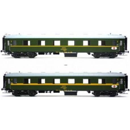 MABAR 81620. Set de dos coches ambulancia HH5-HH6