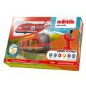 MARKLIN 36100. H0 Caja de Iniciación My World Tren de cercanías LINT con batería recargable