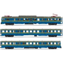 ELECTROTREN 3623. H0 Automotor eléctrico RENFE 440.501 Estado de origen, con cristales frontales altos