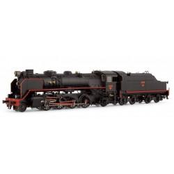 ELECTROTREN 4164. H0 Locomotora vapor RENFE 141F2396. Mikado