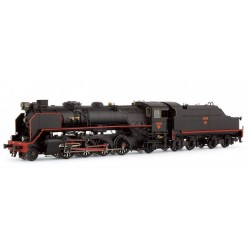ELECTROTREN 4164S. H0 Locomotora vapor RENFE 141F2396. Mikado