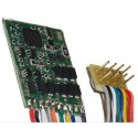 VIESSMANN 5245. H0 Decóder 8 pins con cables Multiprotocolo