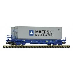 FLEISCHMANN 845364. N Vagón plataforma con contenedor MAERSK RENFE
