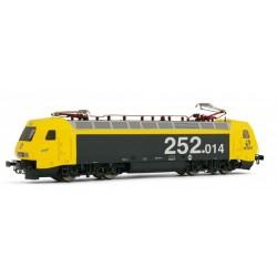 """ELECTROTREN 2522. H0 Locomotora eléctrica RENFE 252.014 """"taxi"""""""