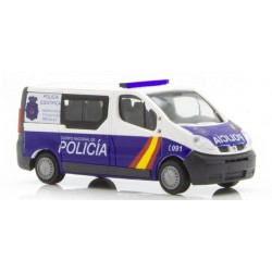 RIETZE 51390. H0 Renault Trafic Policia Nacional