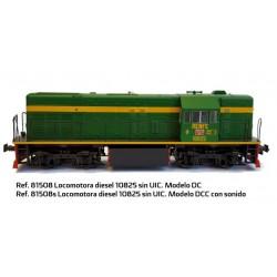 MABAR 81508. H0 Locomotora Diésel 10825 RENFE