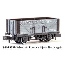 PECO NR-P933B. N Vagón abierto SEBASTIÁN ROVIRA E HIJOS