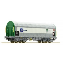 ROCO 67314. H0 Vagón bobinero con toldo CADEFER de RENFE