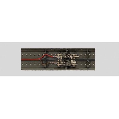 MARKLIN 74042. Cable para conexión de vía C, rojo y marrón, 2 metros.