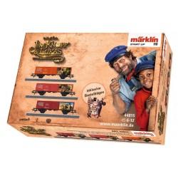 MARKLIN 44815. H0 Set de 3 vagones nº 1 JIM KNOPF