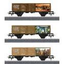 MARKLIN 44816.H0 Set de 3 vagones nº 2 JIM KNOPF