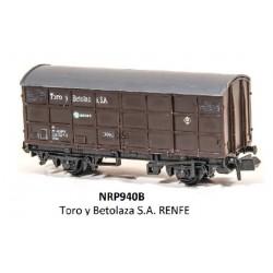 PECO NRP940B. N Vagón Cerrado TORO Y BETOLAZA