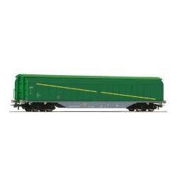 ROCO 76715. H0 Vagón de paredes correderas, RENFE