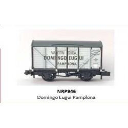 PECO NRP946. N Vagón Cerrado DOMINGO EUGUI PAMPLONA.