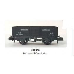 PECO NRP950. N Vagón FERROCARRIL CANTÁBRICO.