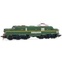 ELECTROTREN 2763S. H0 H0 Locomotora Eléctrica 277.047 verde con raya amarilla. Digital con Sonido.