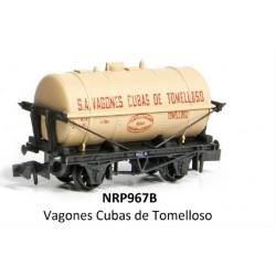 PECO NRP967B. N Vagón Cisterna CUBAS DE TOMELLOSO