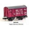 PECO NRP949. N Vagón Cerrado para el transporte de vinos MARIANO MORENO