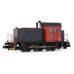 ARNOLD 2324. N Locomotora Diesel RENFE 303.139, roja y gris.