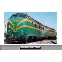 MABAR 81582S. H0 Locomotora diésel 4008, sin UIC. Digital con Sonido.