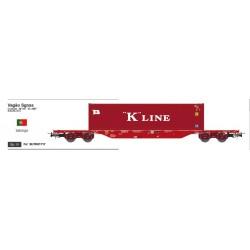 SUDEXPRESS TK01717. H0 Vagón Takargo K line