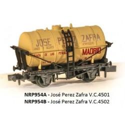 PECO NRP954A. N Vagón cisterna JOSE PEREZ ZAFRA