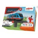MARKLIN 29307. H0 Caja de iniciación May World Ferrocarril Elevado AIRPORT EXPRESS. Con luz y sonido.