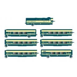 ELECTROTREN 3279. H0 Tren Talgo Pendular Renfe, 6 coches.