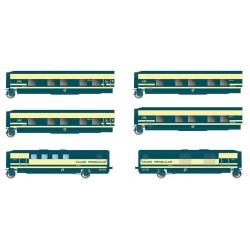 ELECTROTREN 3350. H0 Trenhotel Talgo Renfe 6 coches.