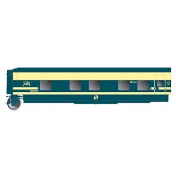 ELECTROTREN 3352. H0 Coche Cama Trenhotel Talgo, puerta Dcha.